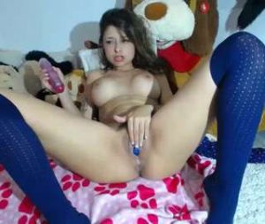 My Latina Cam Chick Is A Horny Slut
