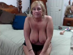 Busty Grandma Goes Naked For The First Time On Cam