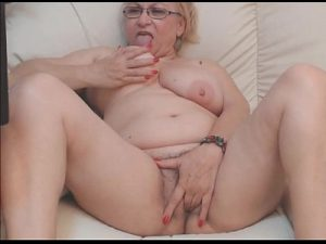 Very Seductive Grandma Loves To Masturbate On Porn Solo Cam