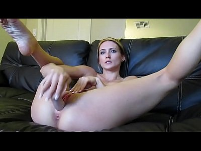 Alluring Milf With Fake Boobs Masturbates And Squirts On Cam