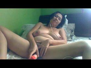 Marvelous Asian Granny Masturbates On Webcam Show