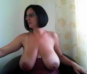 Busty Canadian Milf Natalia Shows Off Her Huge Tits On Webcam