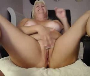 Horny American Milf Janie Shows Off Her Big Boobs And Masturbates On Webcam