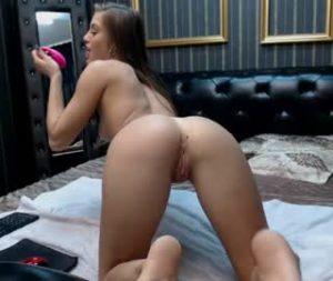 British Nymphomaniac Slut Sandra Shows Off Her Pussy And Asshole On Porn Webcam
