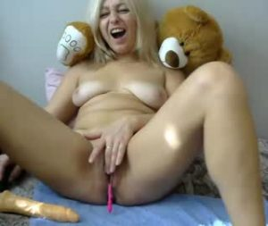 Mature Blonde Woman Katty On Live Porn Cam
