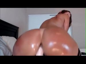 Sexy Curvy Milf Loves To Ride A Dildo Wildly On Live Cam