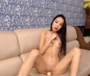 Asian College Cam Girl Megane Toys Herself
