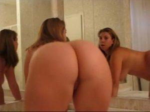 Hot Chubby Girl Monica Shakes Her Phat Ass On Cam