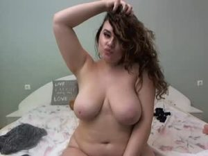 Pregnant Girl Amy Exposes Her Huge Boobs