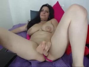 Young Plump Latina Chick Ana Uses Dildo To Fuck Herself