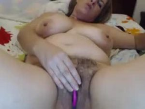 Mature Woman Isa With A Hairy Cunt Pleasures Herself