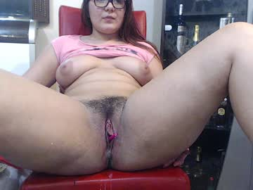 Nerdy Spanish Girl Sophie Bares Her Hairy Cunt And Nice Tits