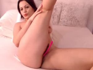 Sexy Wife Anna Does A Nude Webcam Show