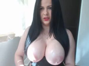 Big Breasted Lady Justy Enjoys Showing Off To Strangers