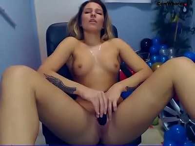 Cute Russian Teen Diana Masturbates Her Tight Cunt On Cam
