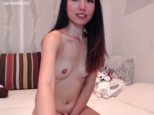 Skinny Asian College Girl Vanesa With Small Titties