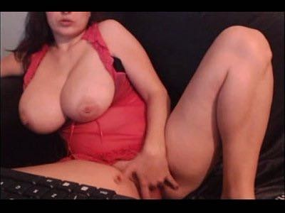 Big Tittied Milf Finger Fucking Herself