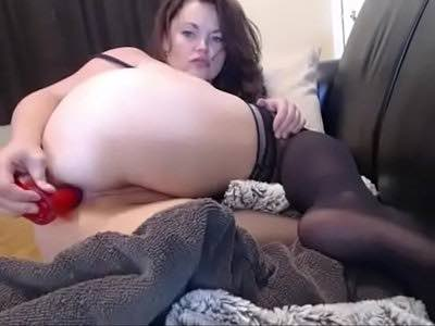 Fat Milf Dildos Her Both Hungry Holes